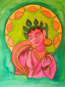 Pink Tara Sun Halo